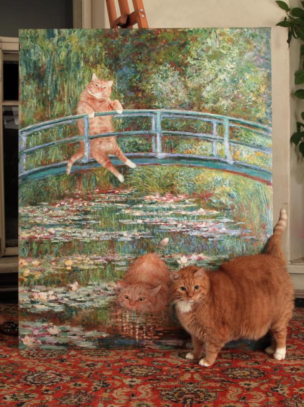 Zarathustra and Monet. Source: http://fatcatart.com
