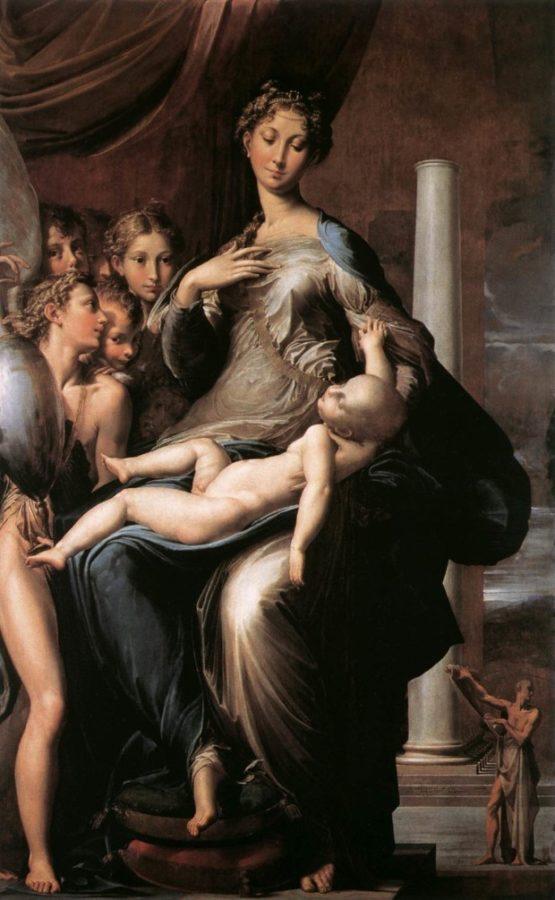 Parmigianino, Madonna with Long Neck, 1534-40, Galleria degli Uffizi