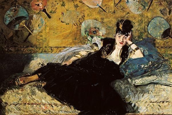 Edouard Manet, Woman with Fans, 1873, Musée d'Orsay