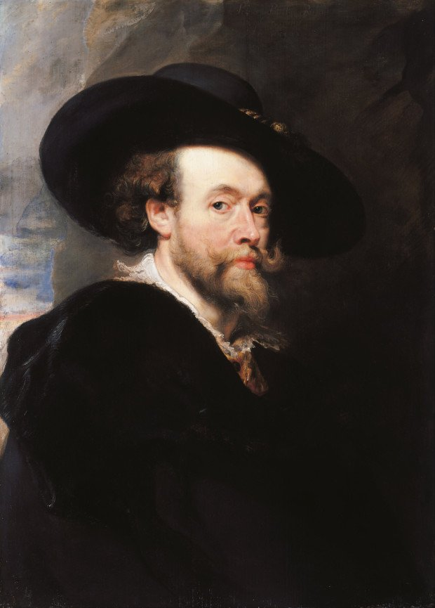 Sir Peter Paul Rubens, Portrait of the Artist, 1623, Royal Collection