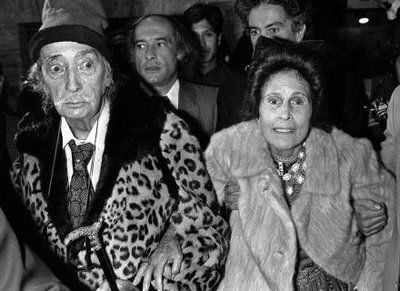 Dali and Gala in their late years