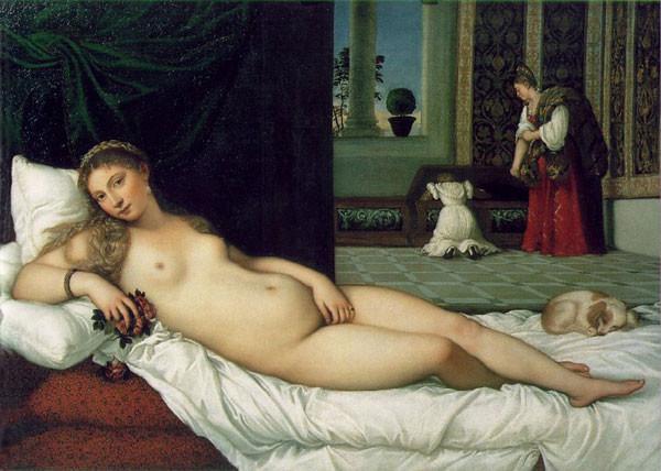 Titian, Venus of Urbino, 1538, Uffizi, Florence