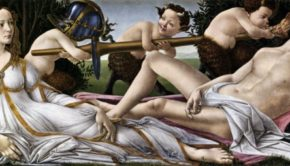 Sandro Botticelli, Venus and Mart, c. 1485, National Gallery London