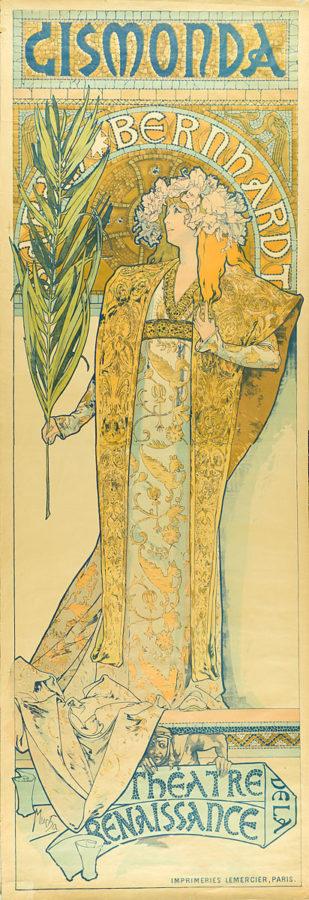 Poster for Gismonda, 1895 Alphonse Mucha Museum Für Kunst Und Gewerbe Hamburg, CC0