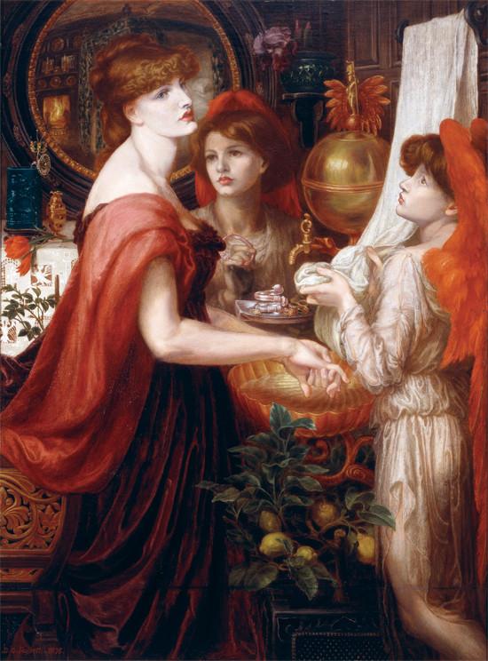 Dante Gabriel Rossetti, La Bella Mano, 1875 Delaware Art Museum