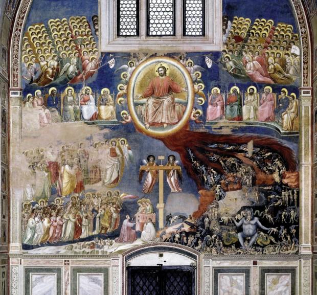 Giotto, The Last Judgement, 1304-06, Scrovegni Chapel, Padova