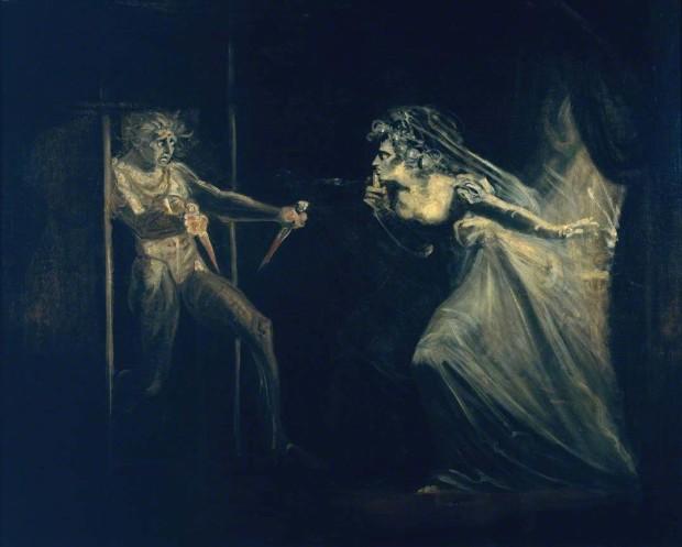 Henry Fuseli, Lady Macbeth Seizing the Daggers, Tate Britain