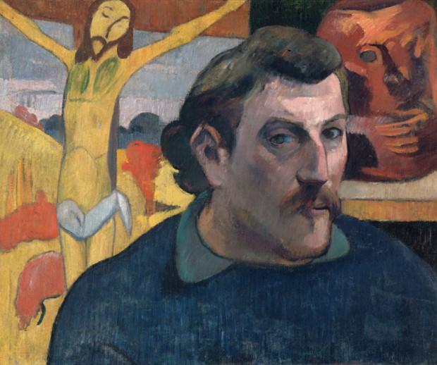 Paul Gauguin, Self-Portrait with a Yellow Christ, 1891, Musée d'Orsay, Paris