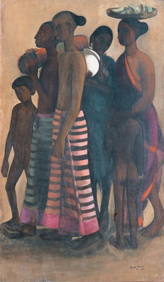 Amrita Sher-Gil, South Indian Villagers Going to Market, 1937, From the Collection of: Vivan and Navina Sundaram, New Delhi