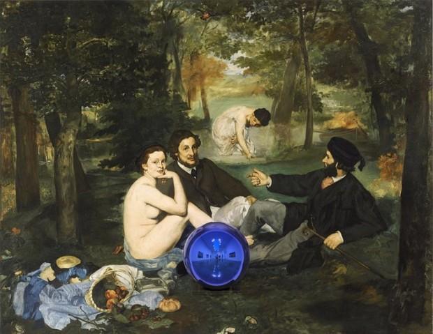 Jeff Koons, Gazing Ball, 2015