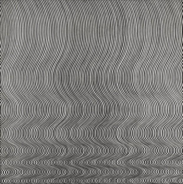 Bridget Riley, Fall, 1963, Tate Britain op art