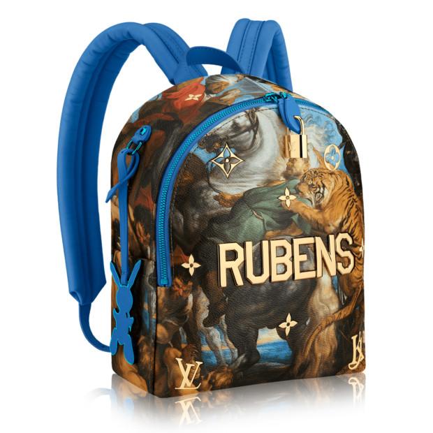 Jeff Koons Louis Vuitton bag rubens