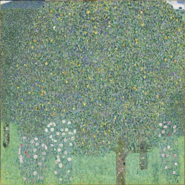 Gustav Klimt Bushes under the Trees Circa 1905 Paris, musée d'Orsay, RF 1980-195 © Musée d'Orsay, Dist. RMN-Grand Palais / Patrice Schmidt