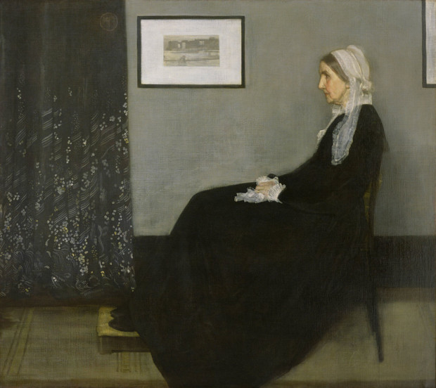 James McNeill Whistler, Arrangement in Grey and Black No.1 (Whistler's Mother), 1871, Musée d'Orsay famous mothers art