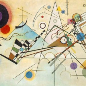 Wassily Kandinsky drawing Composition VIII, 1923