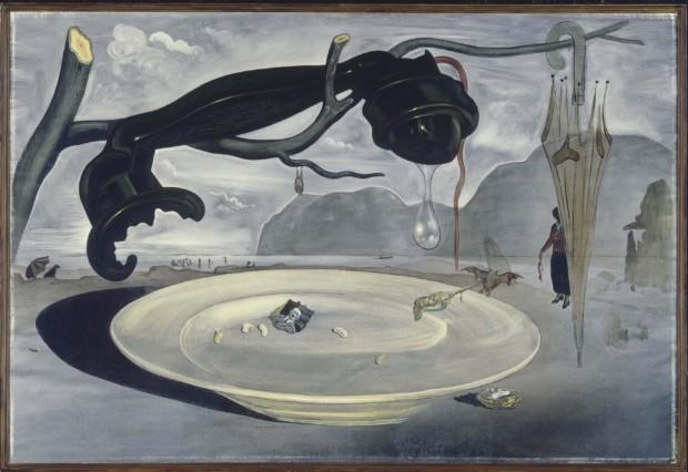 Salvador Dali, The Enigma of Hitler, 1939, Museo Nacional Centro de Arte Reina Sofia, Madrid, Salvador Dali weird