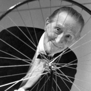 Duchamp talking art