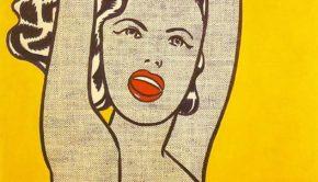 58 1961 LICHTENSTEIN Girl with Ball