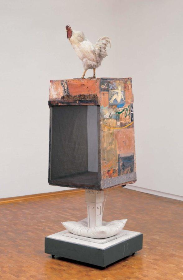 Museum Ludwig Pop ArtRobert Rauschenberg : Odalisque, (1955–1958