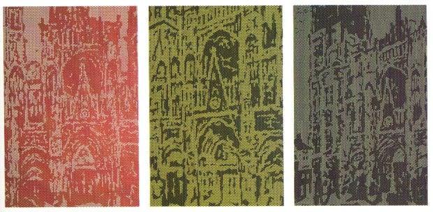 Roy Lichtenstein, Rouen Cathedral Set No 2, 1969, lichtenstein's art