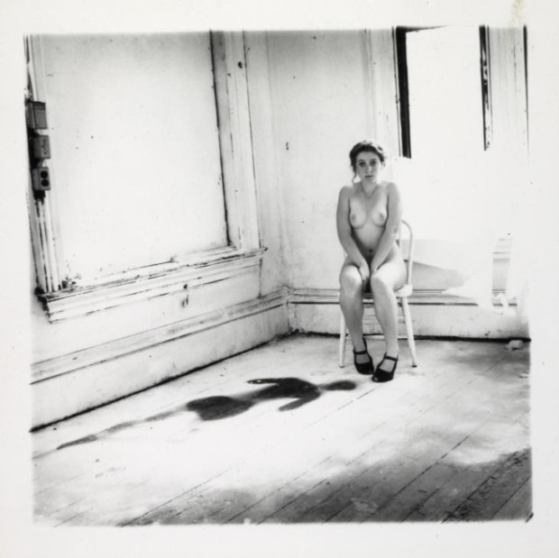 Francesca Woodman, Providence, Rhode Island, 1976, © Courtesy of George and Betty Woodman, Tate Modern, Francesca Woodman photographs