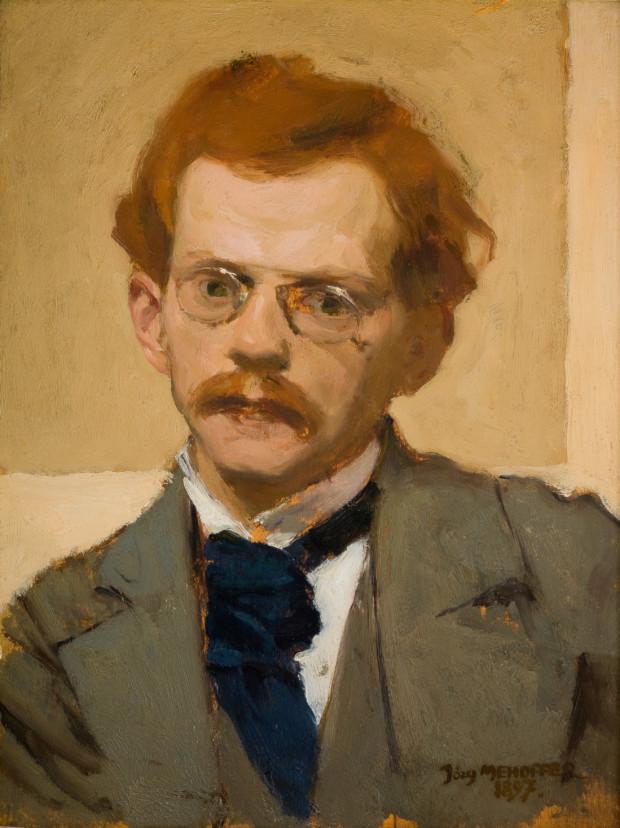 Jozef Mehoffer, Self-Portrait, 1869, National Museum in Krakow