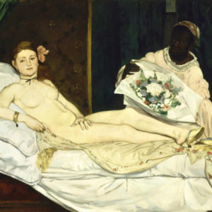 Edouard Manet, Olympia, 1863, Musée d'Orsay