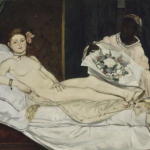 Edouard Manet, Olympia, 1856, Paris Salon