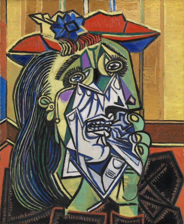 picasso dora maar ring Weeping Woman, Pablo Picasso, 1937, Tate Modern