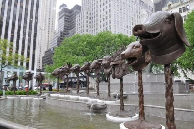 Ai Weiwei animal heads TheZodiacHeadsBoston02-630x418