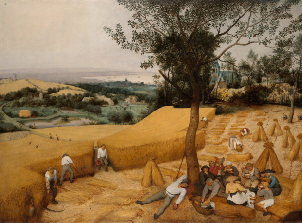 bruegel the harvesters analysis