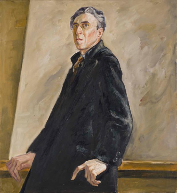 PH-382 (Self-Portrait), Clyfford Still, 1940, Clyfford Still Museum, © City and County of Denver