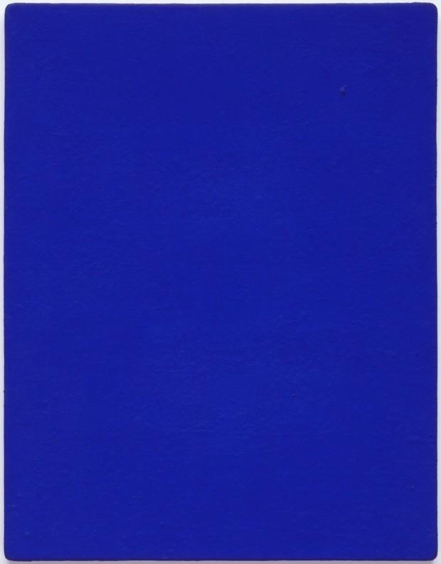 zero movement Yves Klein, Untitled blue monochrome (IKB 82), 1959,Solomon R. Guggenheim Museum