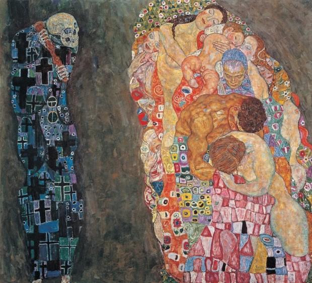 Gustav Klimt, Death and Life (1916).