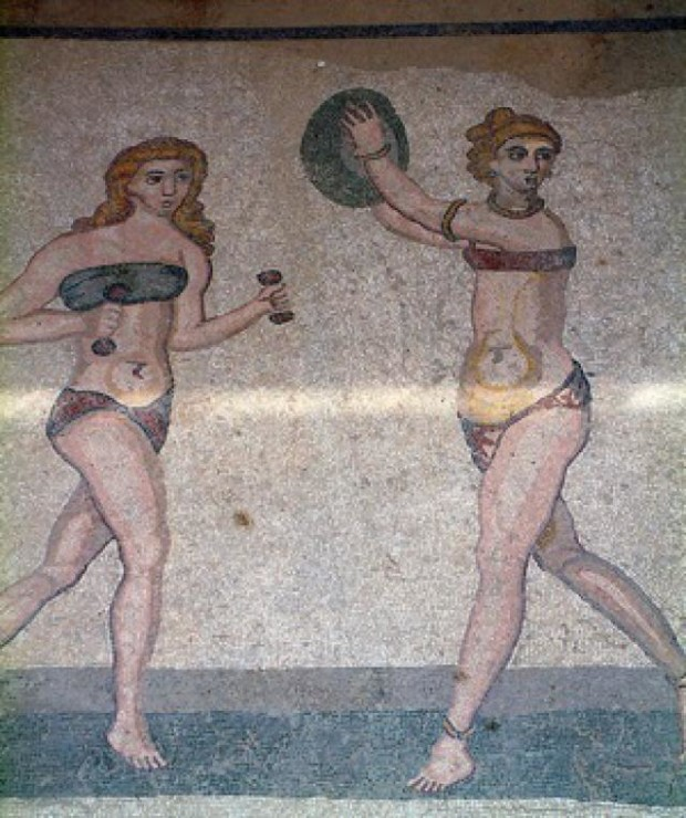 http://ancienthistory.about.com, ancient bikini girls