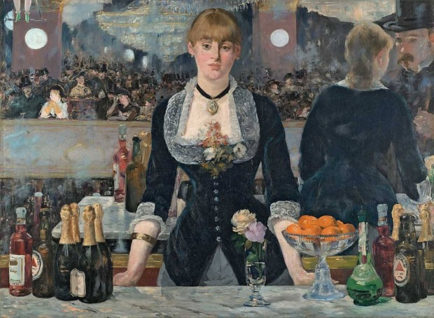 Edouard Manet. A Bar at the Folies-Berger. 1881-1882. London, Courtauld Institute Gallery. mirrors in art