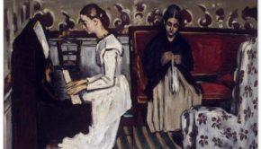 Paul Cezanne. Overture to Tannhäuser (1869). State Hermitage, Saint-Petersburg.