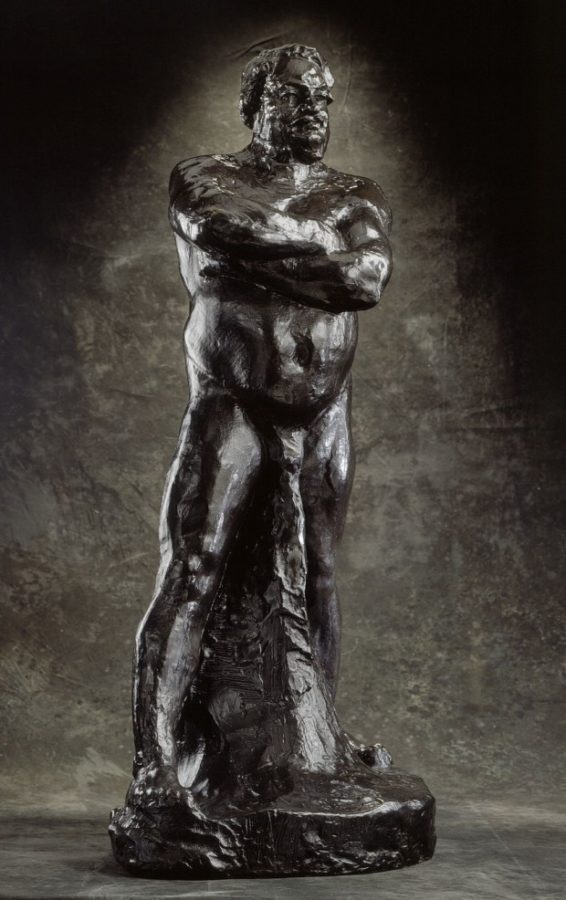 Auguste Rodin, Nude Study of Balzac, ca. 1892, Los Angeles County Museum of Art , scandalous rodin