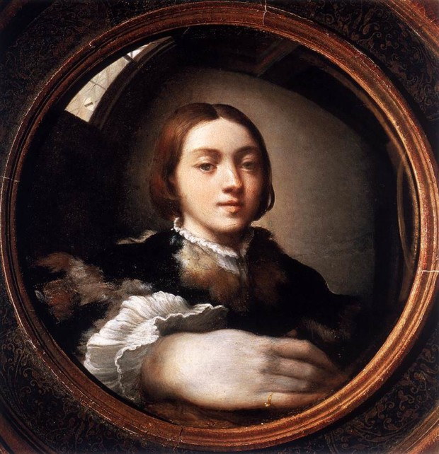Francesco Mazzola, called Parmigianino. Self-portrait in a Convex Mirror. 1524. Vienna, Kunsthistorisches Museum. mirrors in art