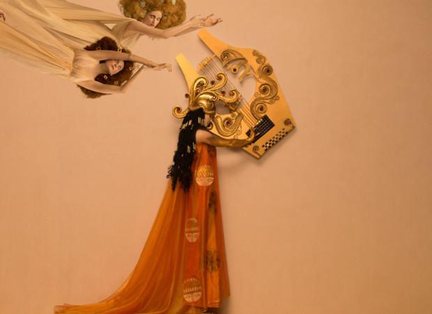 Recreation of ''Beethoven Frieze' detail by Inge Prader image © Life Ball / Inge Prader