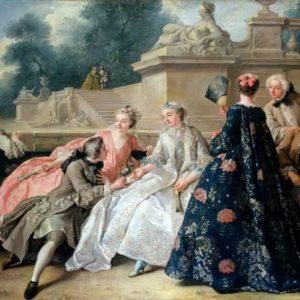 Declaration of love, Jean-François de Troy, 1731, Charlottenburg Palace