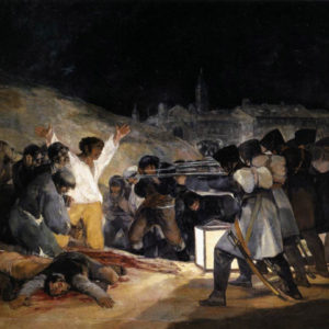 Francisco de Goya The Third of May, 1808: The Execution of the Defenders of Madrid 1814 Museo del Prado, Madrid