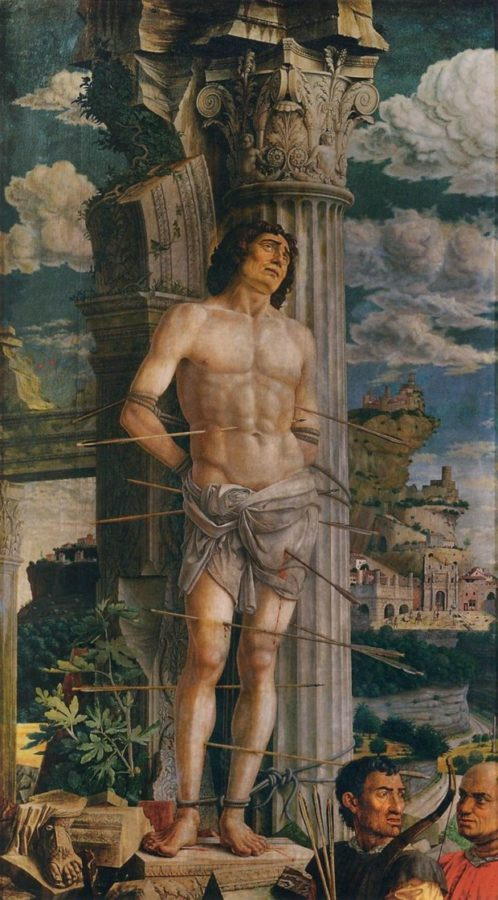 Frida Kahlo symbolism Saint Sebastian, Andrea Mantegna, 1431-1506, Louvre Museum, Paris