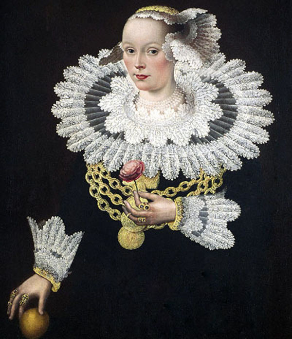 Michael Conrad Hirt, The wife of the burgomaster of Lübeck, 1642