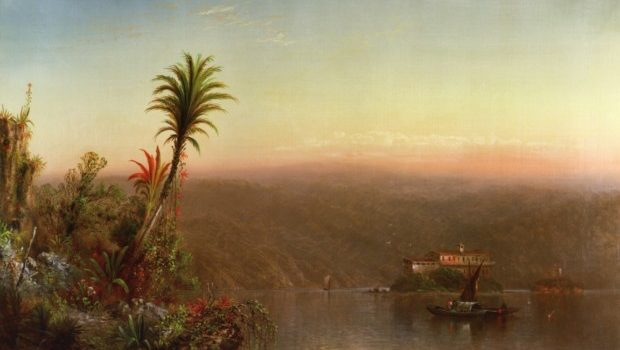 Elizabeth Gilbert Jerome; Tropical Sunset; 1870; private collection