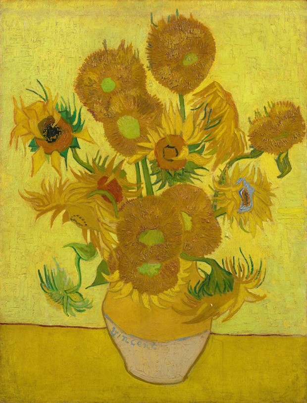"""Van Gogh Sunflowers live """"Sunflowers"""" (1889), from the Van Gogh Museum, Amsterdam. Credit Van Gogh Museum, Amsterdam"""
