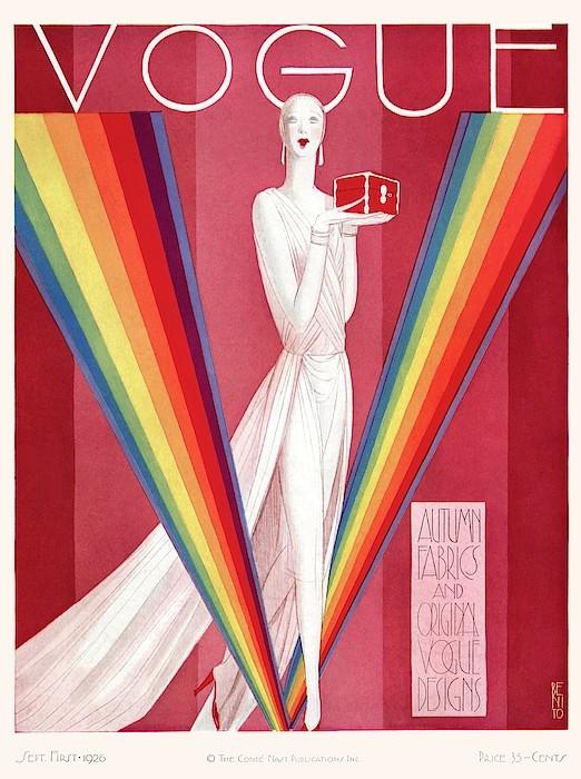 vogue covers artists a-vintage-vogue-magazine-cover-of-a-mannequin-eduardo-garcia-benito