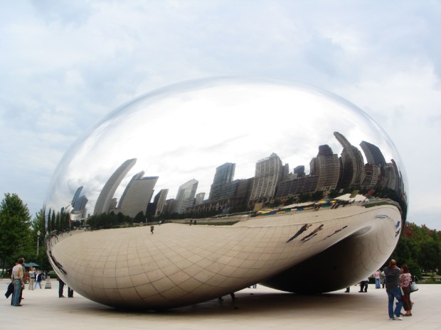 Anish Kapoor scaleAnish Kapoor, Cloud Gate, 2004, installation view, AT&T Plaza, Chicago.
