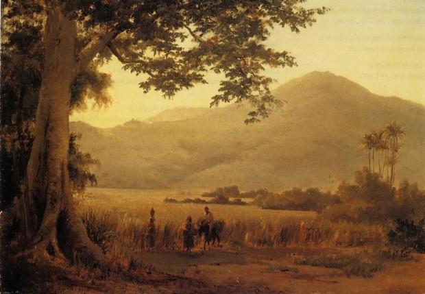 Camille Pissarro St Thomas Camille Pissarro, Antilian Landscape, St. Thomas, 1856, private collection