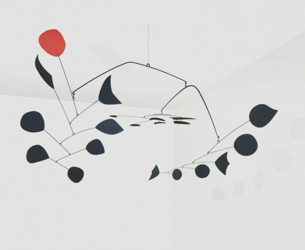 Alexander Calder Circus Alexander Calder, Rouge Triomphant (Triumphant Red), 1959-1965 Sheet metal, rod, and paint 110 × 230 × 180 in 279.4 × 584.2 × 457.2 cm © 2013 Calder Foundation, New York/Artists Right Society (ARS), New York